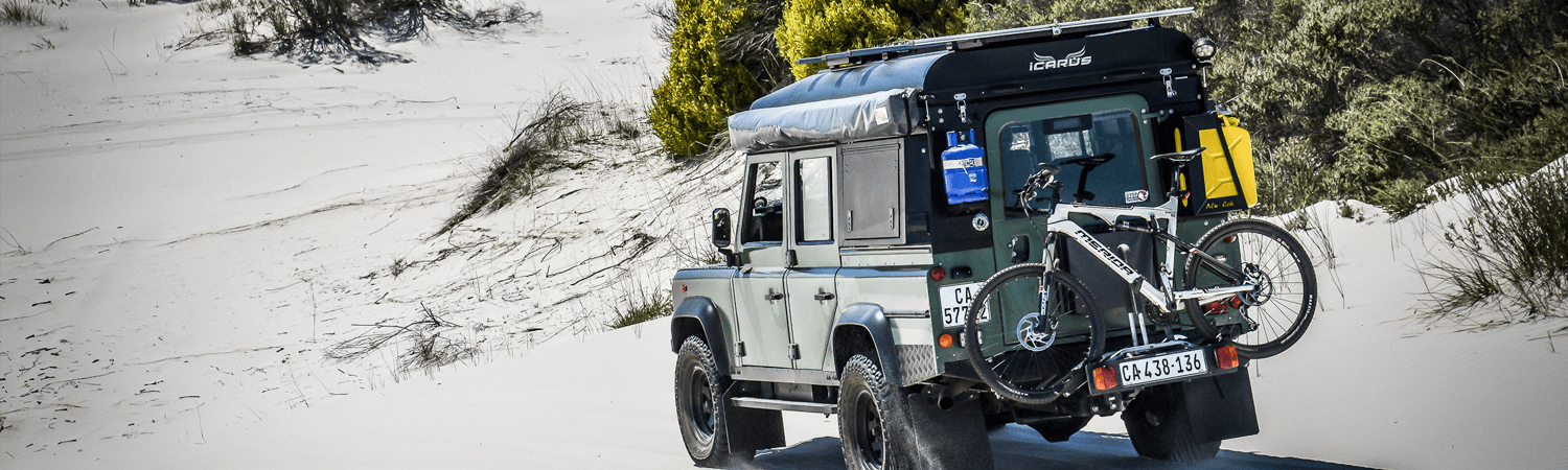 overlanding land rover defender refurbish