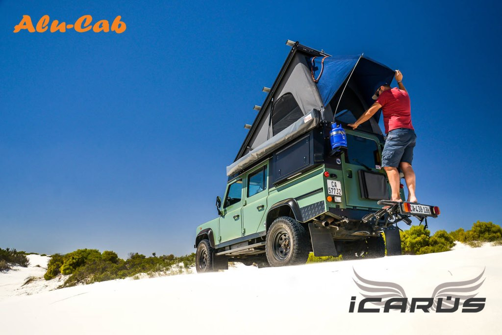 Alu Cab Africa Icarus Rooftop Conversion