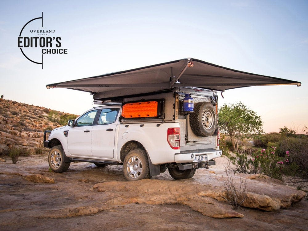 Alu-Cab's Shadow Awn - Overland Journal's Editor's Choice