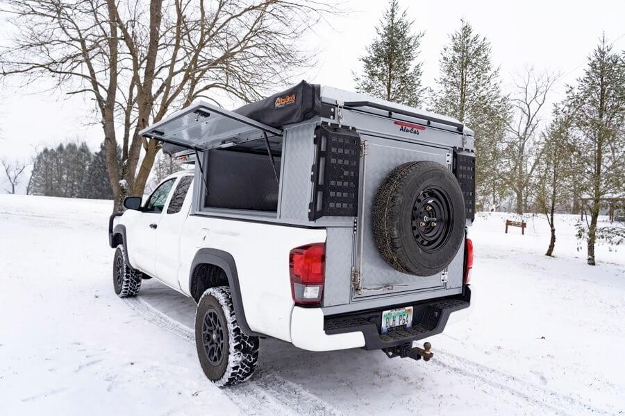Toyota Tacoma Canopy >> Canopy Camper - Canopy Camper - Alu-Cab