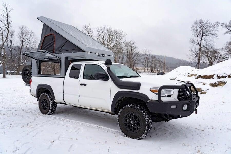 2016 Toyota Tacoma Access Cab >> Canopy Camper - Canopy Camper - Alu-Cab