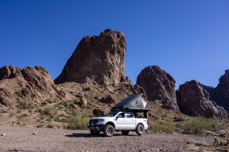The Alu-Cab Canopy Camper in USA