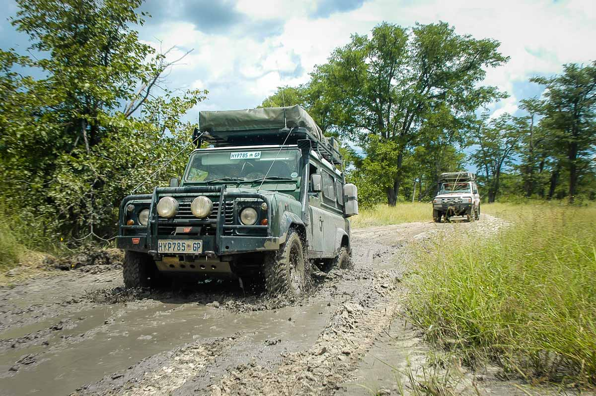 A rooftop tent, a black mamba and a tighty-whitey dash in the bush