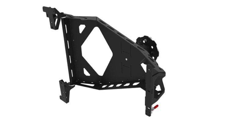 Khaya Spare Wheel Bracket Accessories Alu Cab