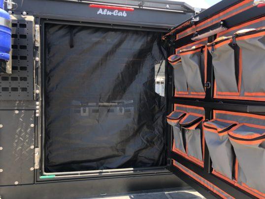 Alu-Cab Rear Mozzie Midgie Net