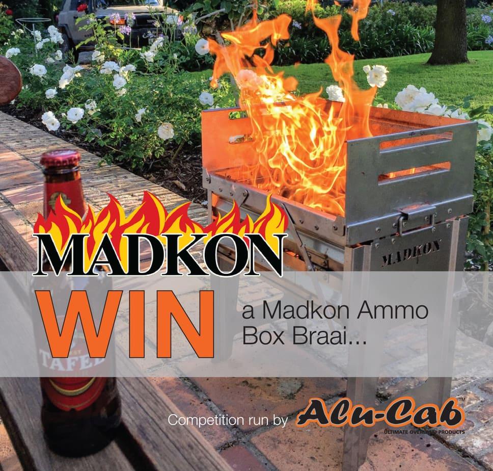 Enter to win a Madkon Ammo Box Braai